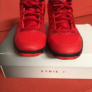 Nike Shoes - Kyrie 1 GS 'Deceptive Red' Size 6.5Y.
